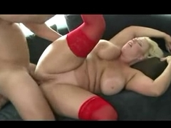 BUSTY  MILF TAKES COCK IN HER ASSHOLE